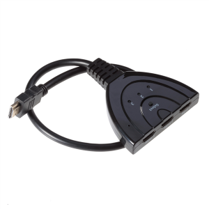 Poppstar 3D Ready Full HD 1080p HDMI Switch 3× HDMI-Input