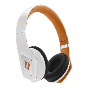 Noontec MF3122(B) Zoro HD II On-Ear-Kopfhörer weiß/orange