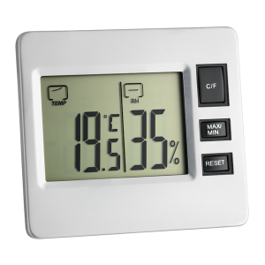 TFA 30.5028 Digitales Thermo-Hygrometer ohne Batterie