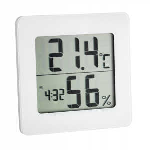TFA 30.5033.02 Digitales Thermo-Hygrometer ohne Batterie