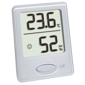 TFA 30.5041.02 Digitales Thermo-Hygrometer ohne Batterie
