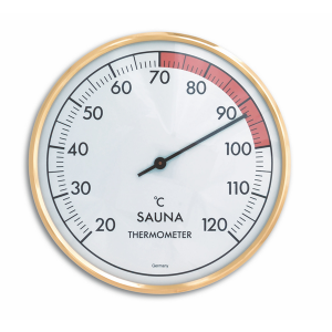 TFA 40.1011 Sauna-Thermometer gold/weiß, SP-NEUTR