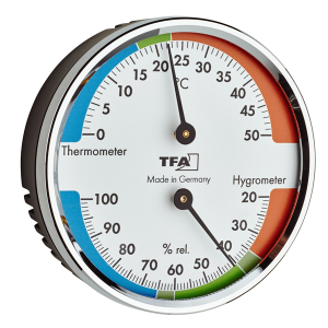 TFA 45.2040.42 Thermo- Hygrometer silber