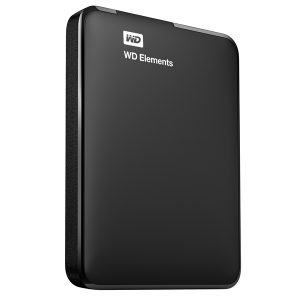 "Western Digital HDD EXT 2TB WD 2.5"" Elements Portable Black"